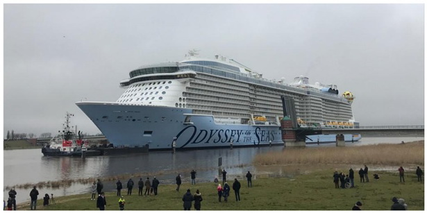 Successful Transfer Of ODYSSEY OF THE SEAS